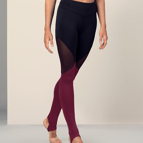 Bloch Ladies Full Length Leggings (Dewberry)