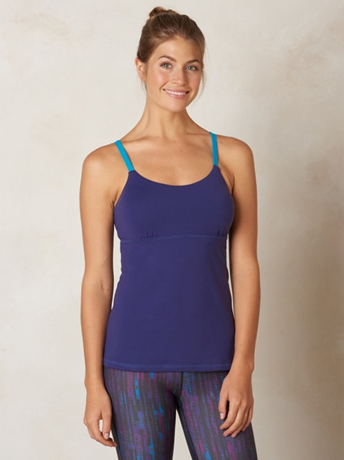 PrAna Nixie Top - Indigo