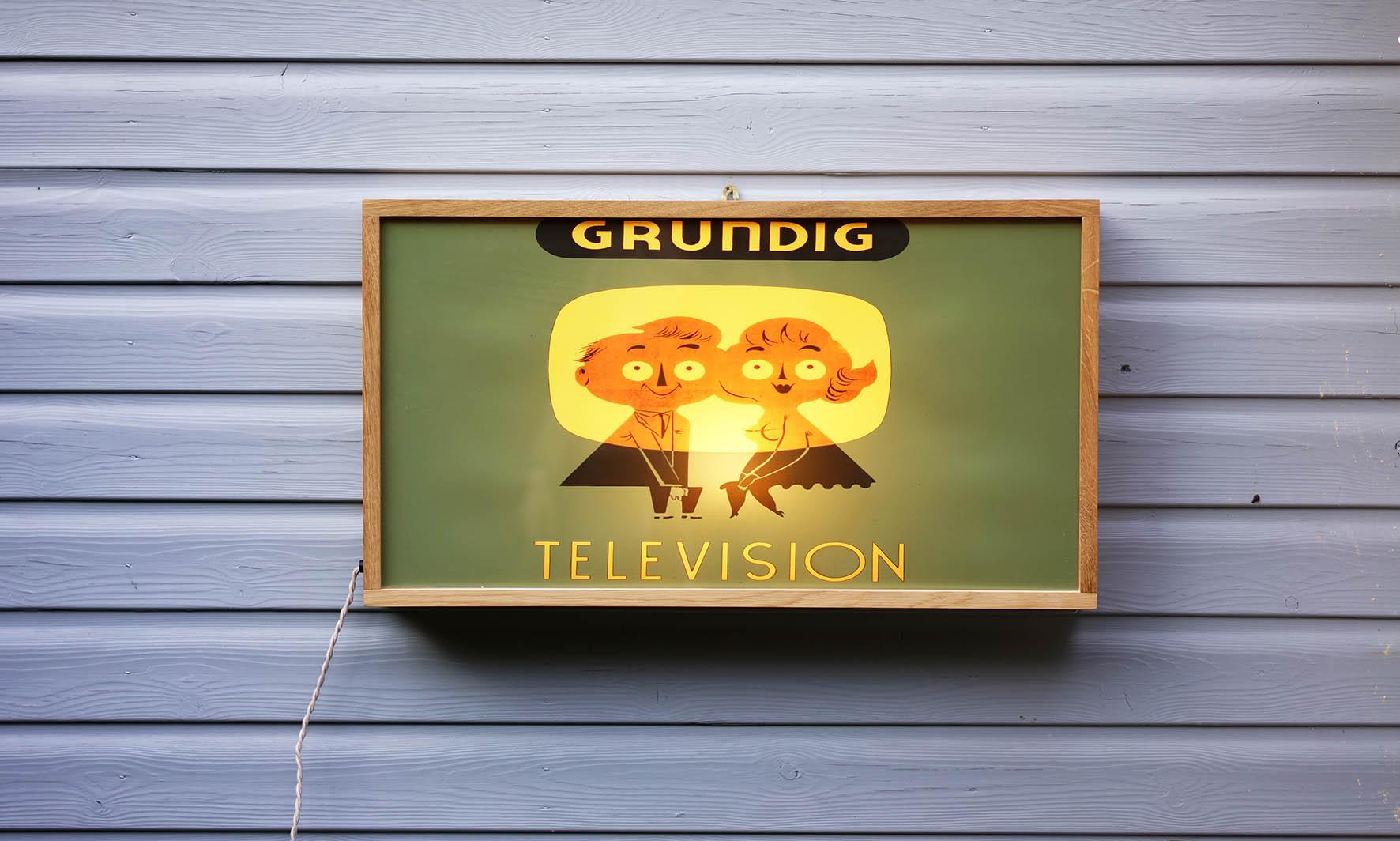 Grundig Television-Front On-LR