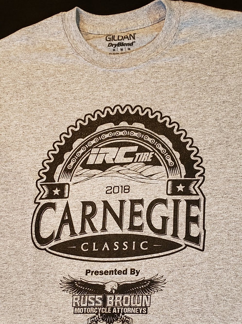 2018 IRC Carnegie Classic T-shirt (youth sizes available)