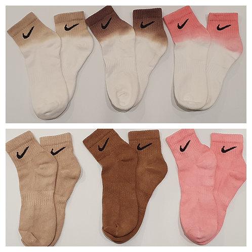 Nike Ankle Tie Dye Socks.