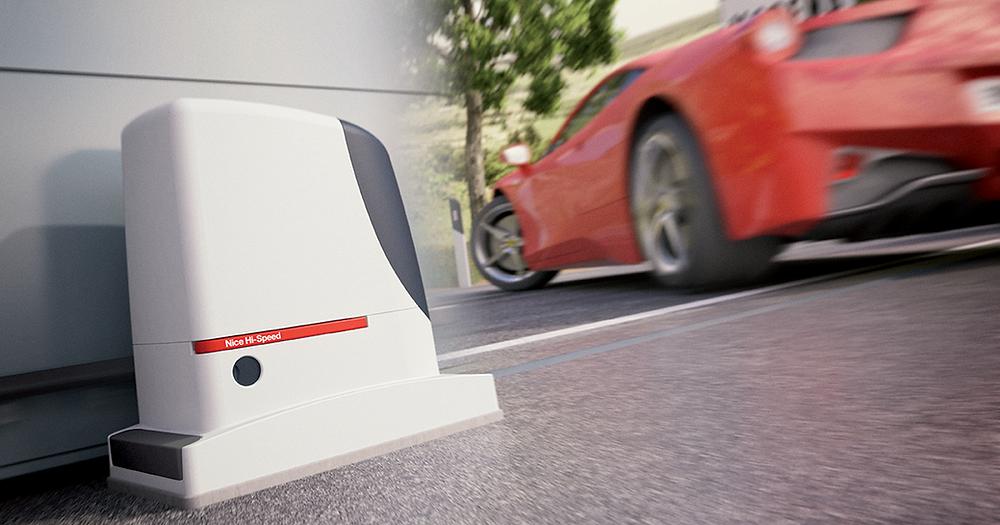Motor Corredera Hi-Speed de Nice
