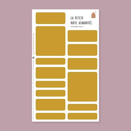 La Petite Note Aimantée_Gingembre