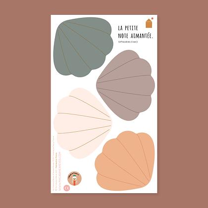La Petite Note Aimantée _ Coquillages Naturels