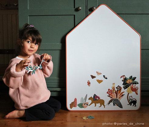 House Magnetic Slate Board