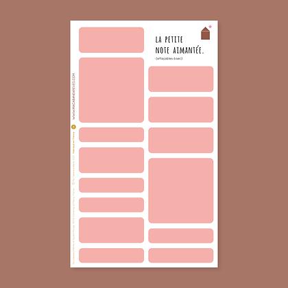 La Petite Note Aimantée_Bubble Gum