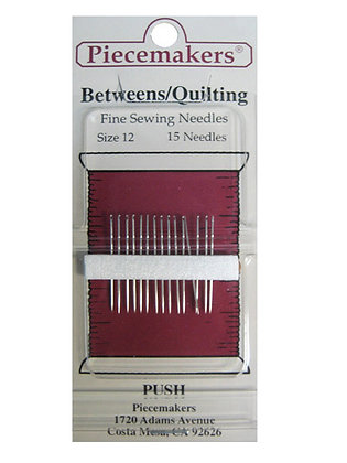 Quilting Fine Sewing Needles Size 10 (20 Pack)