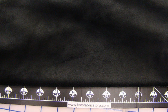 Snuggle Smooth Velour Minky Black