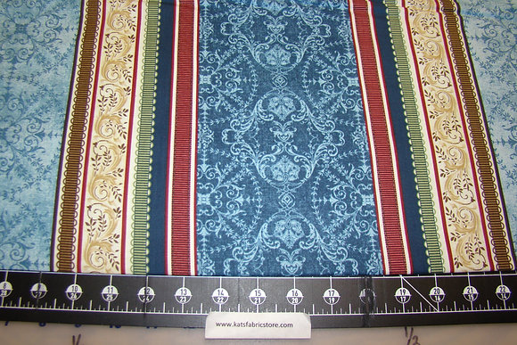 BX Birds of a Feather Border Blue