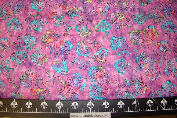 QT Kashmir Small Floral Magenta