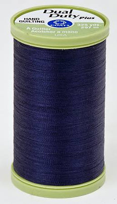 Dual Duty Plus Hand Quilting Navy 4900