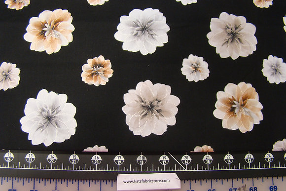 BX Essence of Pearl Floating Blossoms Black