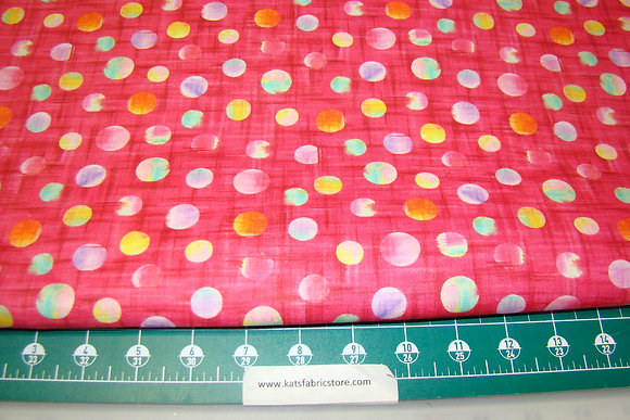 QT Callie Polka Dot Pink Multi
