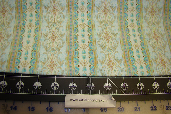 QT Versailles Decorative Stripe Blue