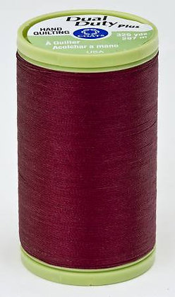 Dual Duty Plus Hand Quilting Barberry Red 2820
