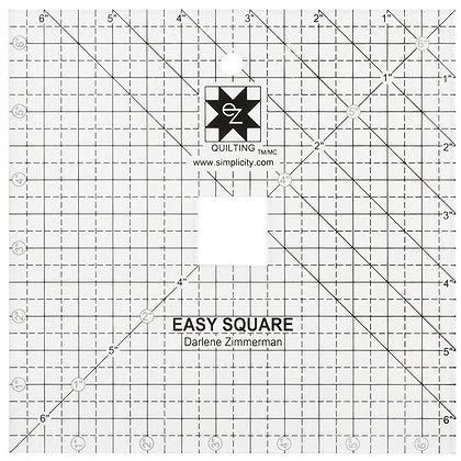 EZ Quilting 6.5in square ruler