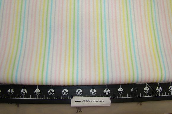 Flannel P&B Sunny Day Stripe