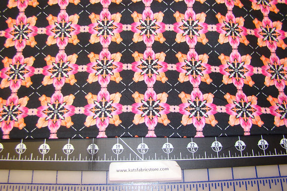 BX Blooming Beauty Majestic Medallions Coral Pink