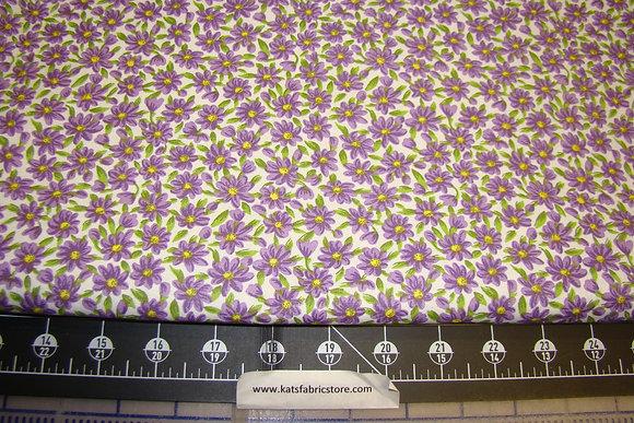 Quilter Calicos 377 Purple