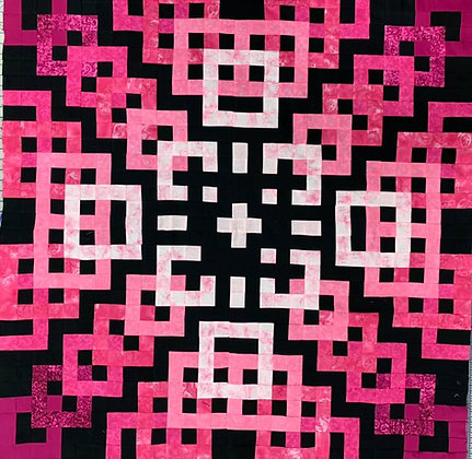 Gradient Square Quilt PATTERN ONLY
