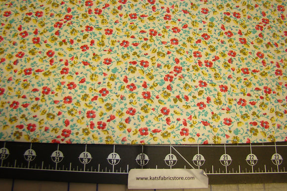 Quilter Calicos 284 Yellow