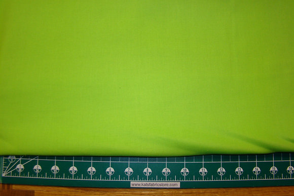 Dream Cotton Solid Lime