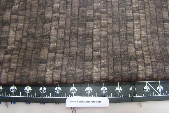 RJR Danscapes Wood Plank Dark Brown