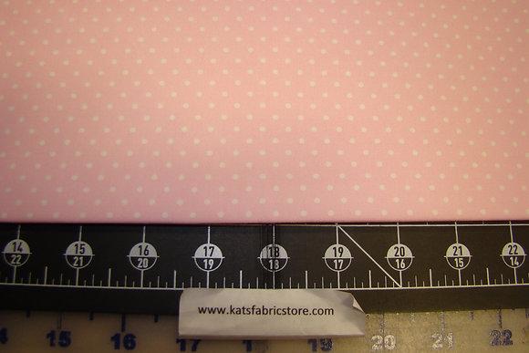 BX Pin Dot Pink/White