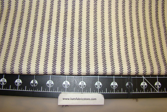 Blue Hill Savannah Stripe Plum