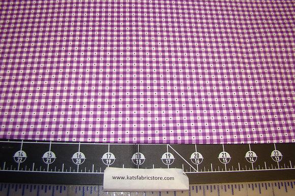 QT Sorbet Essentials Gingham Purple