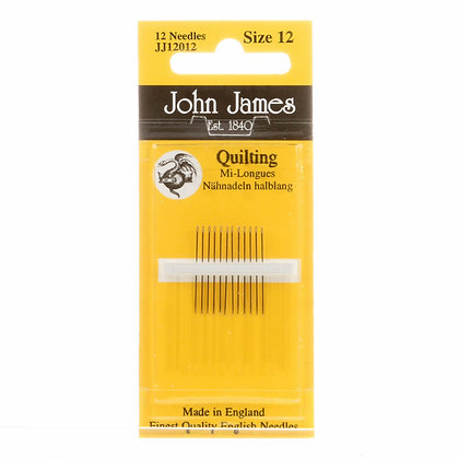 John James Between / Quilting Needles Size 12 12ct # JJ120-12
