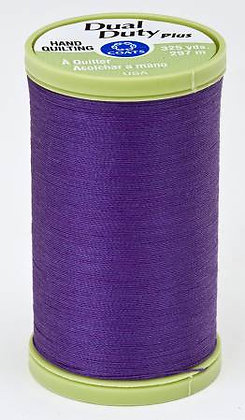 Dual Duty Plus Hand Quilting Deep Violet 3660