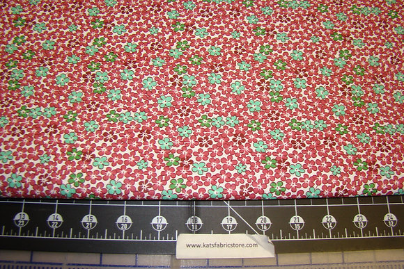 Quilter Calicos 244 Red