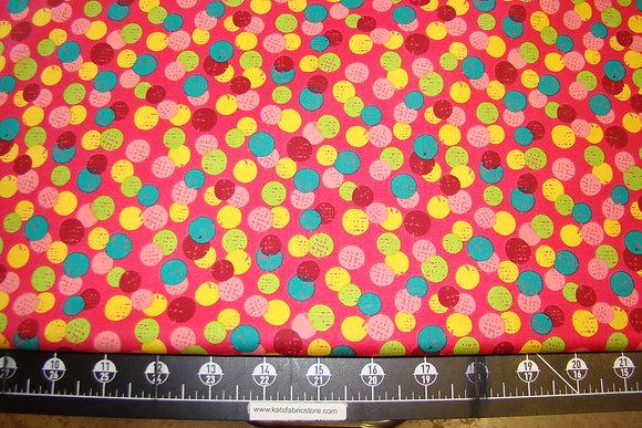 QT Olivia Dots Pink