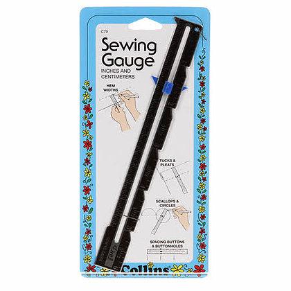 6in Sewing Gauge Metric/English