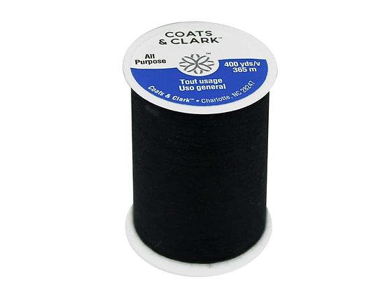 Coats and Clark All Purpose Black Thread