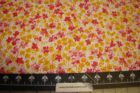 Quilter Calicos 301 Yellow