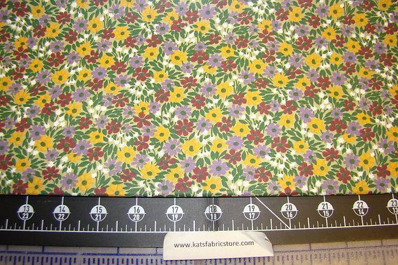 Quilter Calicos 312 Yellow