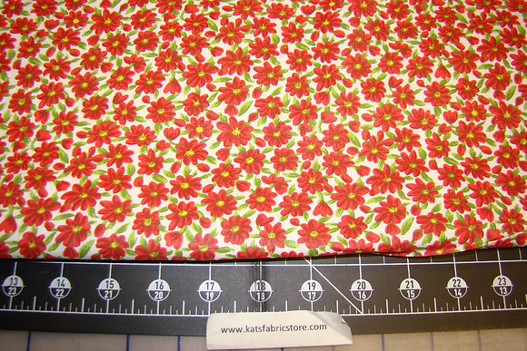 Quilter Calicos 376 Red