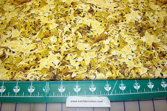 QT Labrador-able Leaves Gold