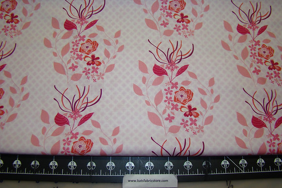 AD Hot House Flowers Pink