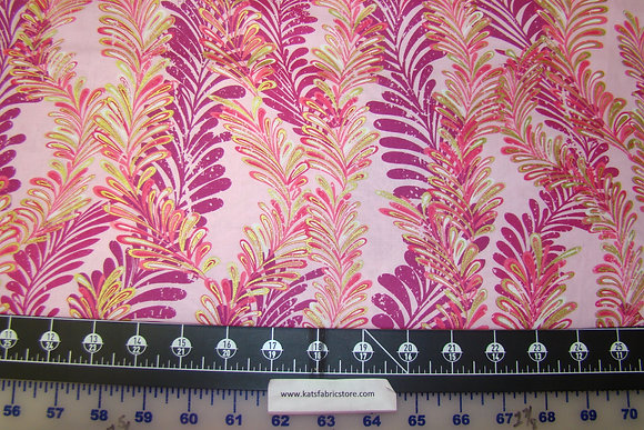 BX Butterfly Jeweled Ferns Pink
