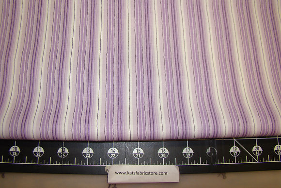 Fabric Arts Fun Brites Stripe Purple