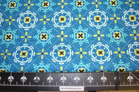BX Mosaic in Shallows Blue