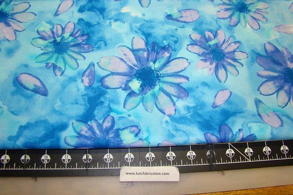 BX Calypso Large Floral Blue