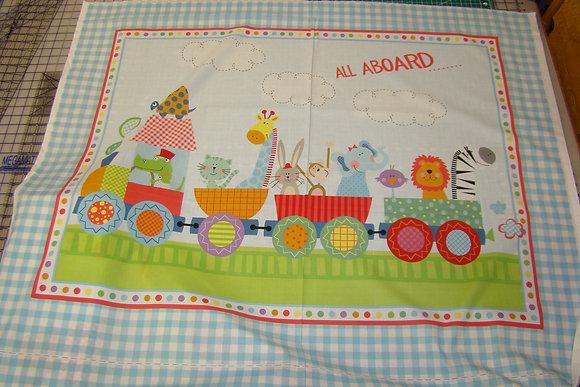Baby Panel Animal Train