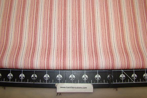 Fabric Arts Fun Brites Stripe Pink