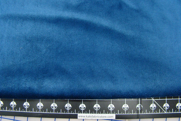 Snuggle Smooth Velour Minky Navy