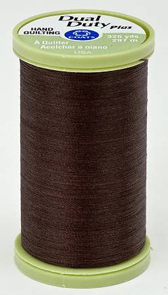 Dual Duty Plus Hand Quilting Chona Brown 8960