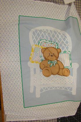 Baby Panel Teddy Bear